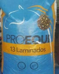 Ração laminada Proequi Guabi 13% proteína