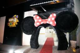 Arco inflável Orelha de veludo Minnie e Mickey para Festas e Eventos