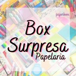 Box surpresa - Papelaria