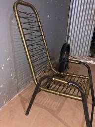 Cadeira de área adulto fio