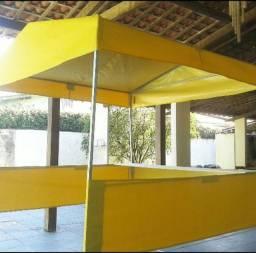 Tenda nova  com estrutura de aço galvanizado