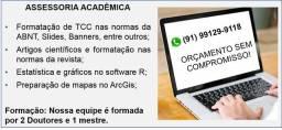 Assessoria Especializada (TCC, artigos, entre outros)