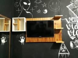 Painel madeira pra TV de 32 polegadas