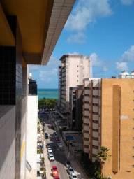 Três quartos na Ponta Verde c/ 130 metros