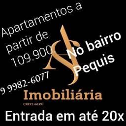 Apartamento a partir de 109.900