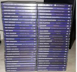 """Coleção """"As Feras do Rock"""" (52 CD's originais)"""