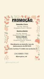 *PROMOÇÃO ALONGAMENTO DE UNHAS *
