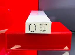 Apple Watch S3 Sport 42mm Space Gray / Black Band - Produto Novo, Lacrado e com Garantia