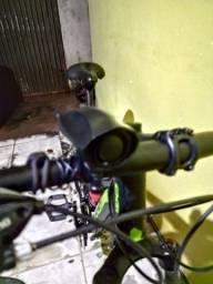 Caixa de som para bicicleta (uma espécie de buzina)