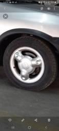Rodas Ursinho com 4 pneus novos