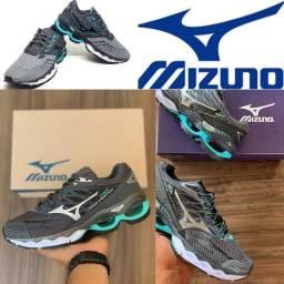 Novo lançamento original casual caminhada tênis esportivo mizuno
