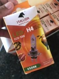 Lampada Led H4 Moto Super Branco