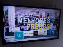 Vendo TV Samsung smart 32 completa com caixa documento controle