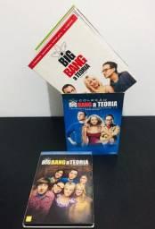 Box DVD Big Bang Theory -Usado.