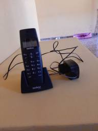 2 aparelhos de Telefone sem fio (1 é extensão)