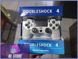 Controle PS4 branco 10% de desconto avista.