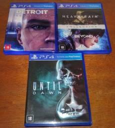 Coleção Quantum Completa! (4 games) Detroit + Heavy Rain + Beyond + Until Dawn