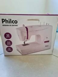 Máquina de costura philco,