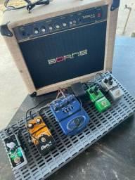 Amplificador + Pedais