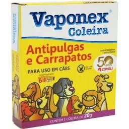 Coleira anti pulga e carrapato Vaponex