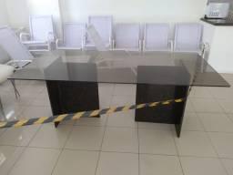 Mesa marmore com tampo de vidro 800 reais