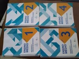 Livros usados do 1° ano do Ensino médio,colégio adventista
