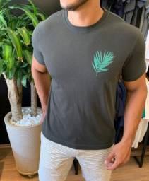 Camiseta Osklen Folha - Verde - Tamanho GG - 100% Original