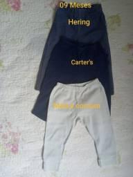 Lote 10 calças bebê