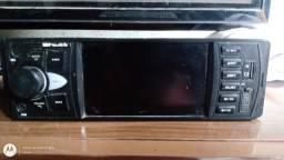 Rádio de carro com tela mais módulo v1300