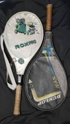 Raquete de tênis dunlop max carbon plus