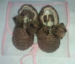 Calçados de bebê menina