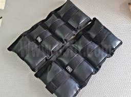 Material para treino caneleira pesos halteres Anilhas trx elásticos barras