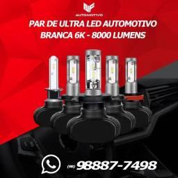Kit ultra LED Automotivo 8.000 lumes cor branca #nfvendas 21