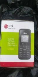 Celular LG B220 novo com garantia ((Entrego)) Aparti 139,90