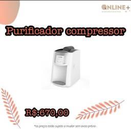 Purificador Compressor em mega promoção corre corre!!!