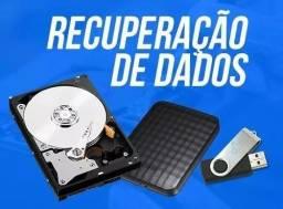 Recuperação de dados em HD, pendrive e cartão sd