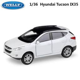 Miniatura de Ferro Hyundai Tucson 12cm 1:34
