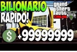 Bilionário Online, GTA V (PC - Console)
