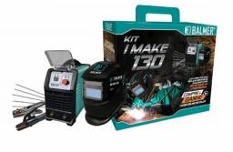 Combo Inversora 130 Kit I-make Balmer 120 amp. 110/220 volts