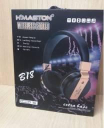 Fone Bluetooth Extra Bass B18 H'maston