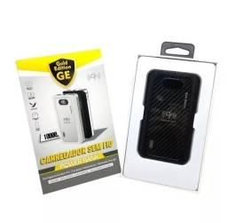 Carregador Sem Fio Portatil Wifi 10.000mAh + 2 Usb - Lacrado