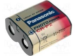 Bateria Pilha Cr-p2 Panasonic - 6v Lithium - Nova, Original, Lacrada!