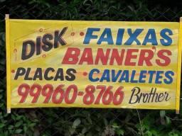 Faixas e Banner's