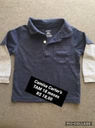 Camisa Carter?s Tam 18 meses
