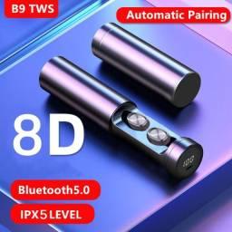 Airdots Fone de Ouvido Bluetooth B9 TWS
