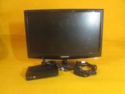 Tv Samsung LCD 22 + Conversor Inova