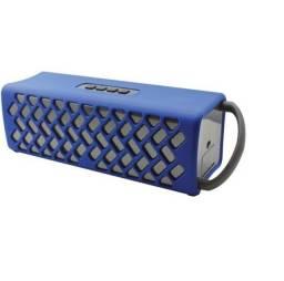 Caixa De Som Bluetooth Resistente Á Água Nuu Wake W1-blu