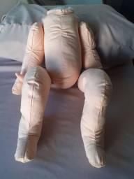 Corpinho em tecido para bebe TERAPÊUTICO  reborns
