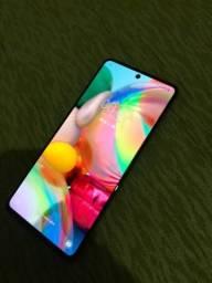 Samsung galaxy A71 128 GB 6 RAM desbloqueio digital e facial