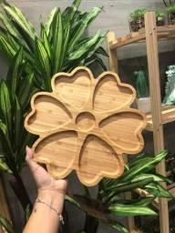 Petisqueira de Bambu 30 cm